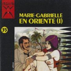 Cómics: COLECCION X NUMEROS 35 Y 36.,PICHARD. MARIE GABRIEL EN ORIENTE EDICIONES LA CUPULA. 2 TOMOS RUSTICA. Lote 208068133