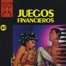 Comics: COLECCION X NUMERO 40. EDICIONES LA CUPULA. RUSTICA. Lote 208068283