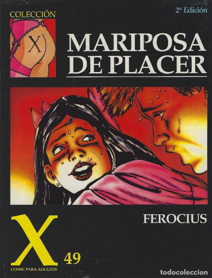 COLECCION X NUMERO 49. EDICIONES LA CUPULA. RUSTICA (Tebeos y Comics - La Cúpula - Comic Europeo)