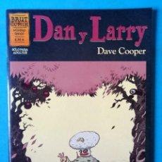 Fumetti: DAN Y LARRY - NÚMERO ÚNICO - DAVE COOPER - ''MUY BUEN ESTADO''. Lote 208301483
