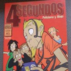 Cómics: 4 SEGUNDOS. FELICIANO Y ALEJO. BRUT COMIX Nº1. LA CÚPULA. Lote 208396618