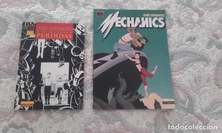 LAS MUJERES PERDIDAS (B/N) Y MECHANICS (COLOR), DE JAIME HERNANDEZ . TAMBIEN POSIBLE SUELTOS (Tebeos y Comics - La Cúpula - Comic USA)