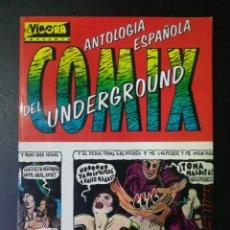 Fumetti: ANTOLOGIA ESPAÑOLA DEL COMIX UNDERGROUND. EL VÍBORA 1981. Lote 209141460