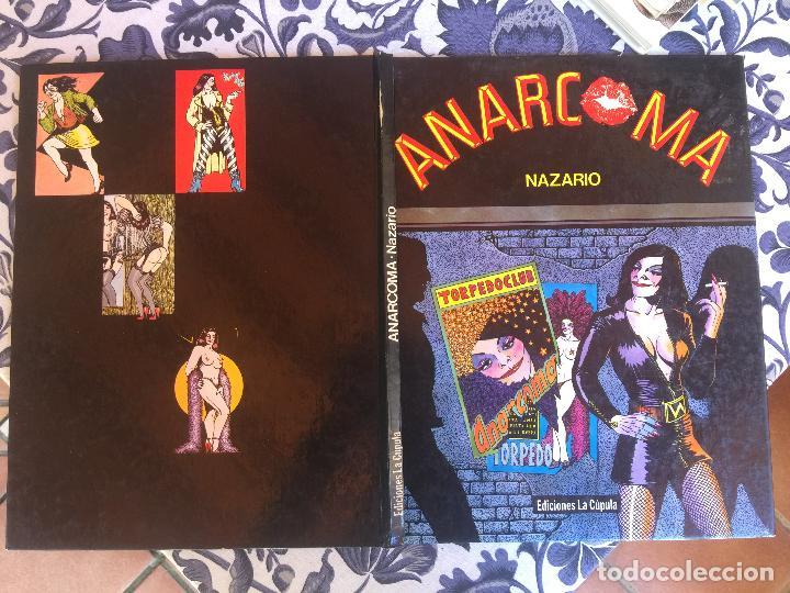 Cómics: ANARCOMA - NAZARIO - EDICIONES LA CUPULA - TAPA DURA - 1ª EDICION 1983 - Foto 2 - 209202450