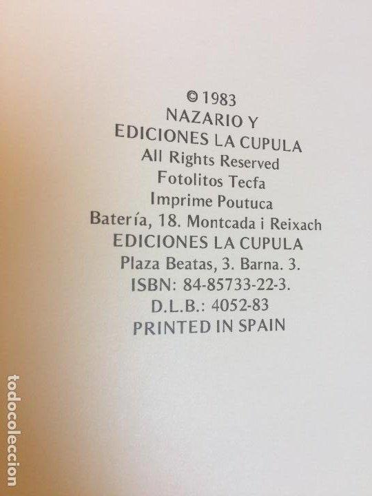 Cómics: ANARCOMA - NAZARIO - EDICIONES LA CUPULA - TAPA DURA - 1ª EDICION 1983 - Foto 4 - 209202450