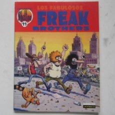 Fumetti: SHELTON-LOS FABULOSOS FREAK BROTHERS-OBRAS COMPLETAS Nº11-LA CÚPULA 1992. Lote 209960951