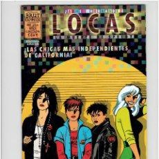Cómics: * LOCAS - LA MUERTE DE SPEEDY * Nº 1 Y 2 DE 4 * JAIME HERNANDEZ - BRUT COMIX * LA CUPULA 1997 *. Lote 210098872
