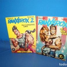Comics: COMICS DESCATALOGADOS RANXEROX EN NEW YORK Y RANXEROX 2 -LA CUPULA. Lote 210226715