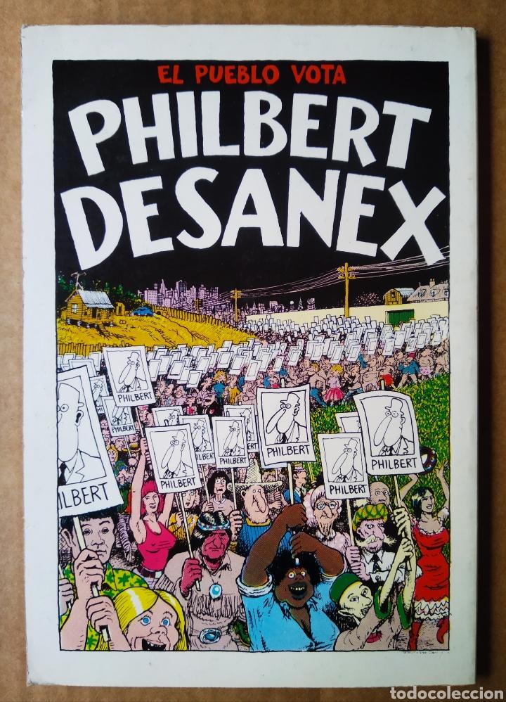Cómics: El Sueño 100.000 de Philbert Desanex, por Gilbert Shelton (La Cúpula, 1981). Colección de Bolsillo. - Foto 2 - 210326520