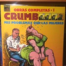 Cómics: MIS PROBLEMAS CON LAS MUJERES ROBERT CRUMB. Lote 211503185