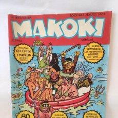 Cómics: MAKOKI Nº 7 - 8 EXTRA VACACIONES DE EDICIONES LA CUPULA. Lote 211701848