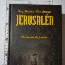 Cómics: JERUSALÉN. UN RETRATO DE FAMILIA. CÓMIC. YAKIN - BERTOZZI. Lote 212227433