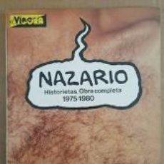 Cómics: NAZARIO HISTORIETAS.OBRA COMPLETA 1975-1980. ED. LA CÚPULA. Lote 212247315