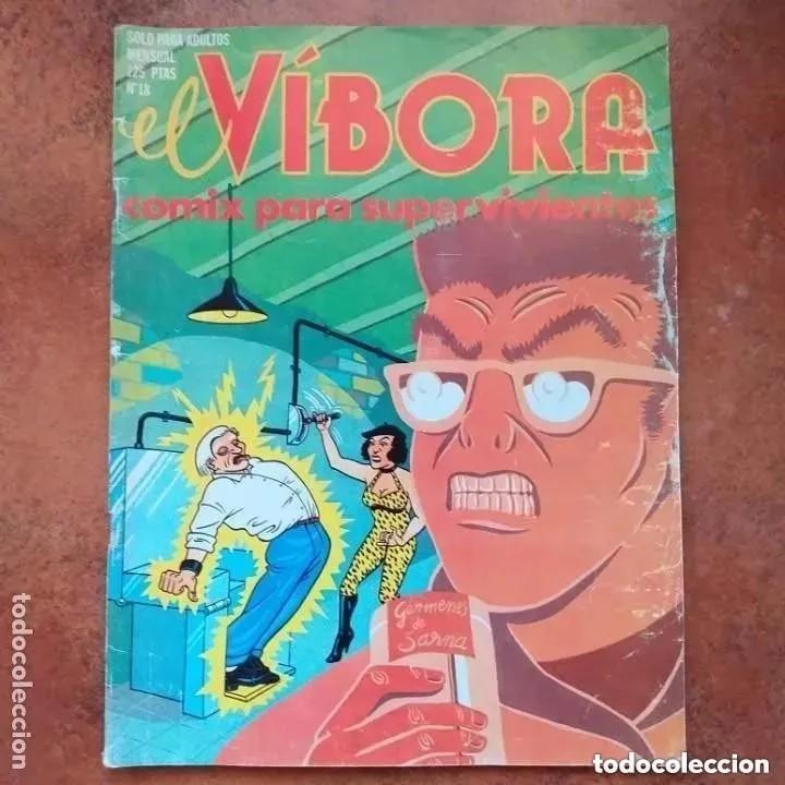 EL VIBORA NUM 18 (Tebeos y Comics - La Cúpula - El Víbora)