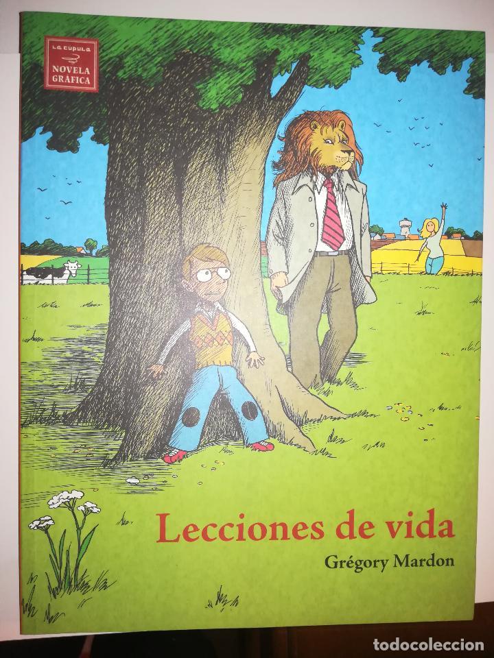 LECCIONES DE VIDA (GREGORY MARDON) (Tebeos y Comics - La Cúpula - Comic USA)