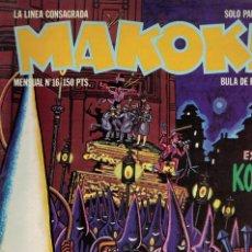 Comics: MAKOKI Nº 16 / 1ª ÉPOCA. AÑOS 80. Lote 213473750