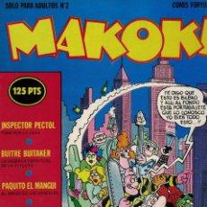 Comics: MAKOKI Nº 2 / 1ª ÉPOCA. AÑOS 80. Lote 213475983