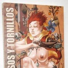 Cómics: HUESOS Y TORNILLOS POR MANUEL CAROT MAN DE ED. LA CÚPULA EN BARCELONA 2009. Lote 213510911