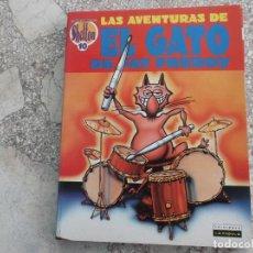 Comics : LAS AVENTURAS DE EL GATO DE FAT FREDDY Nº 10, GILBERT SHELTON, EDICIONES LA CUPULA, B/ N,. Lote 213532626