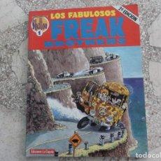 Cómics: LOS FABULOSOS FREAK BROTHERS, Nº 1, GILBERT SHELTON, EDICIONES LA CUPULA, B/ N,. Lote 213532751