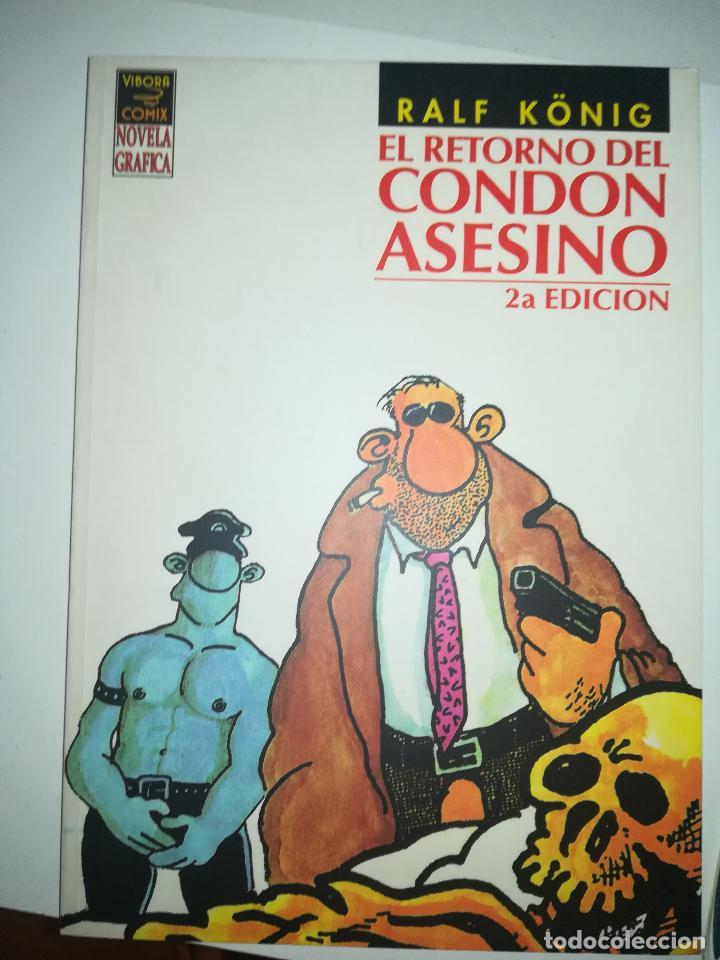 EL RETORNO DEL CONDON ASESINO 2ª EDICION (RALF KONIG) (Tebeos y Comics - La Cúpula - Comic Europeo)