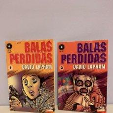 Cómics: BALAS PERDIDAS PRIMEROS 10 NÚMEROS. Lote 213883982