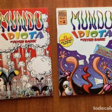 Cómics: MUNDO IDIOTA. Lote 214107592
