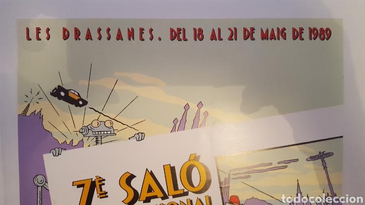 Cómics: Poster- Cartel - Max - Del 7 Salo (Salon) Internacional del comic Barcelona - 1989 - Foto 2 - 214113173