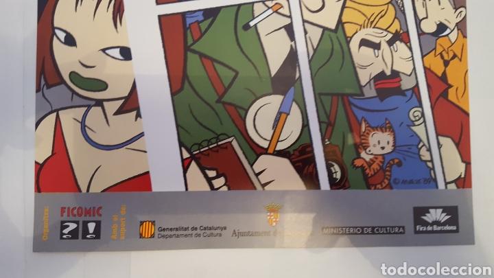 Cómics: Poster- Cartel - Max - Del 7 Salo (Salon) Internacional del comic Barcelona - 1989 - Foto 4 - 214113173