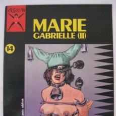 Comics : MARIE GABRIELLE II Nº14 - LA CUPULA 1988 - TAPAS ACARTONADAS. Lote 214829985