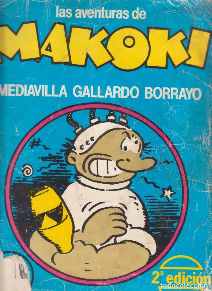 COMIC LAS AVENTURAS DE MAKOKI 2ª EDICIÓN (1981) ED. LAERTES (Tebeos y Comics - La Cúpula - Autores Españoles)