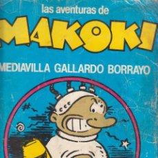 Cómics: COMIC LAS AVENTURAS DE MAKOKI 2ª EDICIÓN (1981) ED. LAERTES. Lote 215825493
