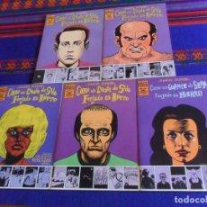 Cómics: COMO UN GUANTE DE SEDA FORJADO EN HIERRO NºS 1 2 3 4 5 COMPLETA DE DANIEL CLOWES. LA CÚPULA 1995 MBE. Lote 225704380