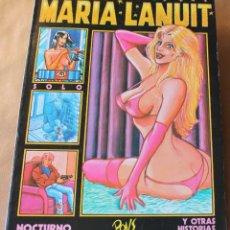 Cómics: MARIA LANUIT Y OTRAS HISTORIAS - PONS - 1ª ED. LA CÚPULA, 1984 - MUY BUEN ESTADO. Lote 217414841