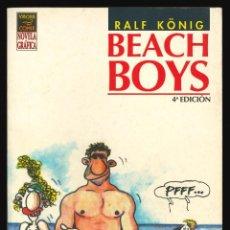 Cómics: BEACH BOYS - LA CÚPULA / NÚMERO ÚNICO (RALF KÖNIG). Lote 217520170