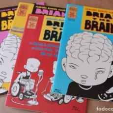 Cómics: MIGUEL ÁNGEL MARTÍN - BRIAN THE BRAIN 1 2 3 4 – BRUT COMIX 1995 – LA CÚPULA - TAMBIÉN SUELTOS. Lote 217603773