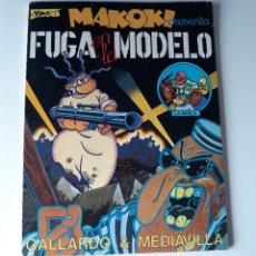 Cómics: MAKOKI PRESENTA: FUGA EN LA MODELO - GALLARDO Y MEDIAVILLA. Lote 217998778