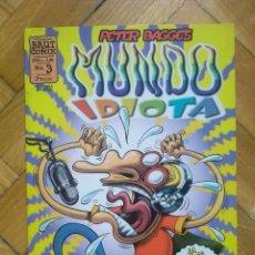 Cómics: MUNDO IDIOTA Nº 3 - PETER BAGGE. Lote 218264445