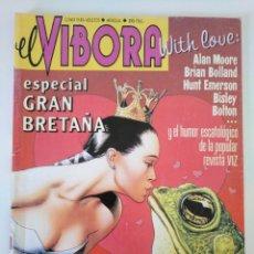 Cómics: EL VIBORA N°. 203. ESPECIAL GRAN BRETAÑA. MOORE, BOLLAND, BISLEY, BOLTON,.... Lote 218276806
