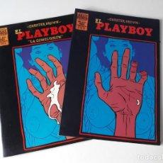 Cómics: EL PLAYBOY (SERIE LIMITADA DE 2 NÚMEROS) - CHESTER BROWN - BRUT COMIX. Lote 218491481