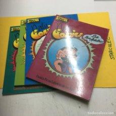 Cómics: EL VIBORA DIRTY COMICS 4 NUMEROS I-IV EDICIONES LA CUPULA. Lote 218583661
