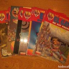 Comics : OBRAS COMPLETAS SHELTON 1 AL 13, FREAK BROTHERS, GATO FAT FREDDY, NOT QUITE DEAD. LA CUPULA COMICS.. Lote 218782725