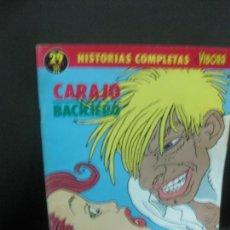 Cómics: HISTORIAS COMPLETAS DE EL VIBORA. Nº 29. CARAJO BACILIERO. EDICIONES LA CUPULA 1990. Lote 219083278