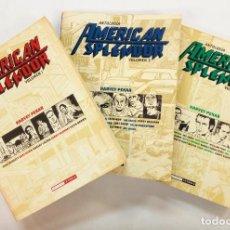 Cómics: AMERICAN SPLENDOR VOLUMEN 1, 2 Y 3 (ANTOLOGÍA COLECCIÓN COMPLETA) -VVAA Y HARVEY PEKAR. Lote 219198880