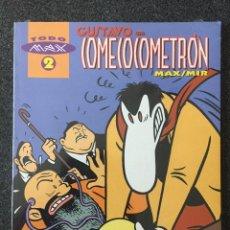 Comics: GUSTAVO EN COMECOCOMETRÓN - MAX / MIR - TODO MAX 2 - 1ª EDICIÓN - LA CÚPULA - 1994 - ¡NUEVO!. Lote 219896750