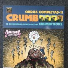 Comics : EL DESQUICIADO MUNDO DE LOS CRUMBTOONS - CRUMB - OBRAS COMPLETAS 11 - 1ª ED. LA CÚPULA 2003 ¡NUEVO!. Lote 219972786