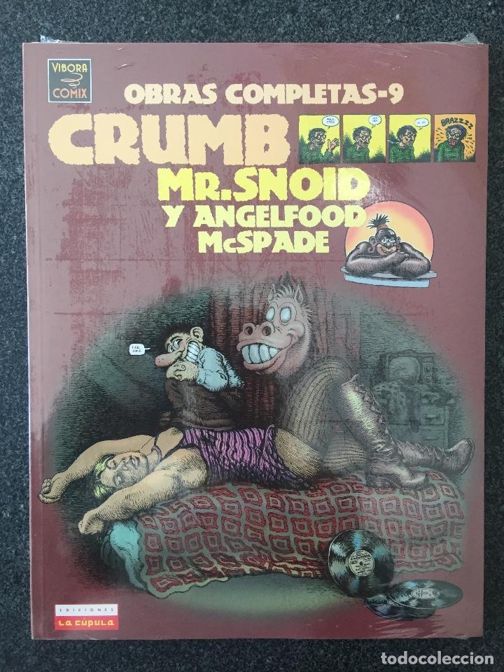 MR.SNOID Y ANGELFOOD MCSPADE - CRUMB - OBRAS COMPLETAS 9 - 1ª EDICIÓN - LA CÚPULA 2001 ¡PRECINTADO! (Tebeos y Comics - La Cúpula - Comic USA)