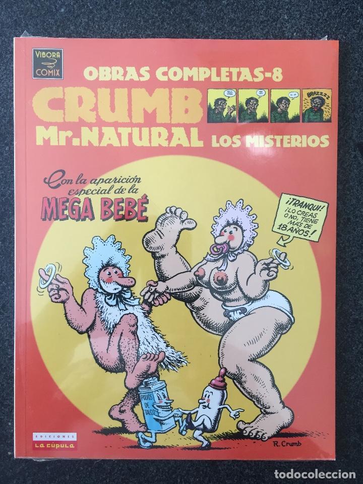 MR.NATURAL LOS MISTERIOS - CRUMB - OBRAS COMPLETAS 8 - 1ª EDICIÓN - LA CÚPULA - 2000 - ¡PRECINTADO! (Tebeos y Comics - La Cúpula - Comic USA)