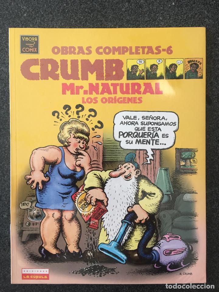 MR.NATURAL LOS ORÍGENES - CRUMB - OBRAS COMPLETAS 6 - 1ª EDICIÓN - LA CÚPULA - 1998 - ¡PRECINTADO! (Tebeos y Comics - La Cúpula - Comic USA)