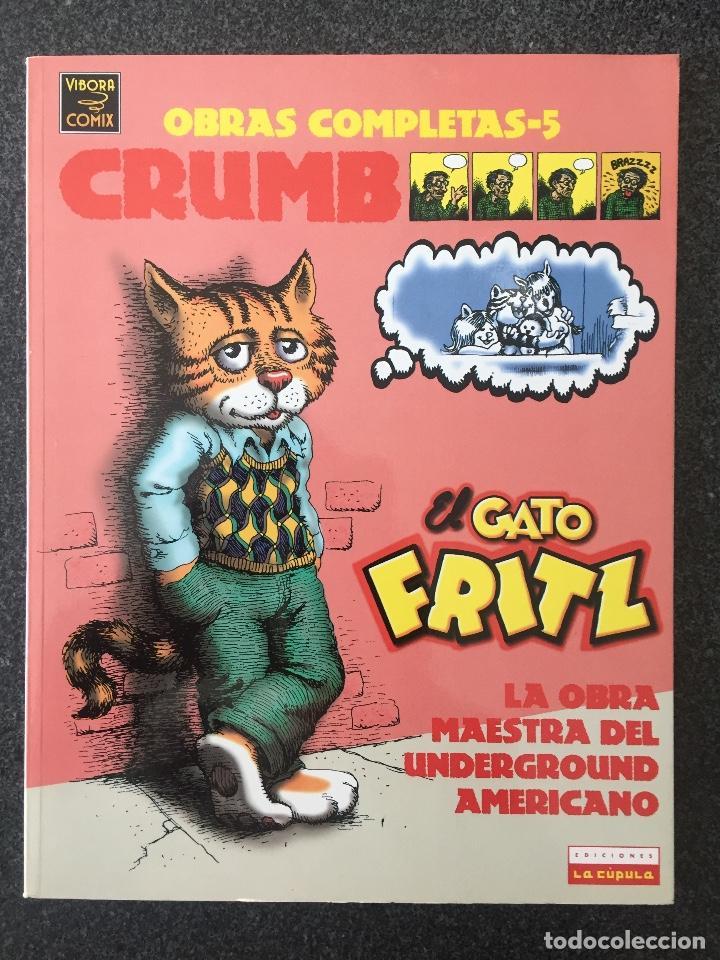 EL GATO FRITZ - CRUMB - OBRAS COMPLETAS 5 - 1ª EDICIÓN - LA CÚPULA - 1996 - ¡NUEVO! (Tebeos y Comics - La Cúpula - Comic USA)